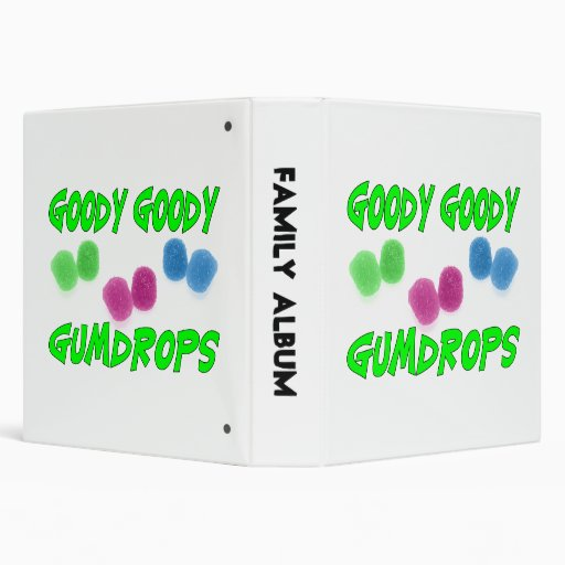 Goody Goody Gumdrops Vinyl Binder