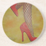 Goody Two Shoes Beverage Coaster