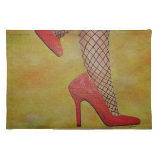 Goody Two Shoes Cloth Placemat