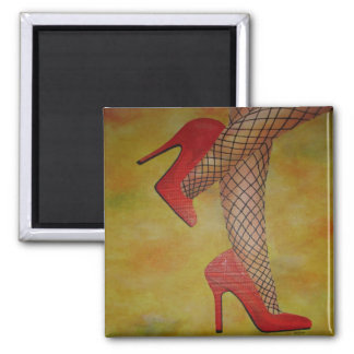 Goody Two Shoes 2 Inch Square Magnet