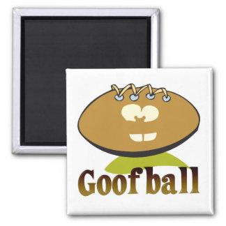 GOOFBALL funny football cartoon character Refrigerator Magnets
