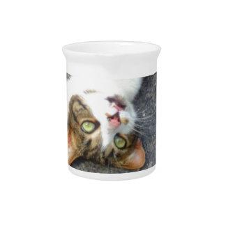 Goofball Upside Down Kitty Pitcher