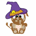 Goofkins Witchy Brown Cow Acrylic Cut Out