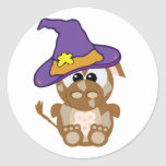 Goofkins Witchy Brown Cow Stickers