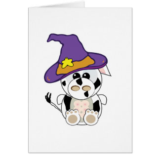 Goofkins Witchy  Cow Card