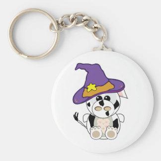 Goofkins Witchy  Cow Keychain