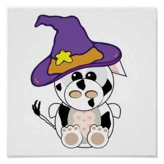 Goofkins Witchy  Cow Print