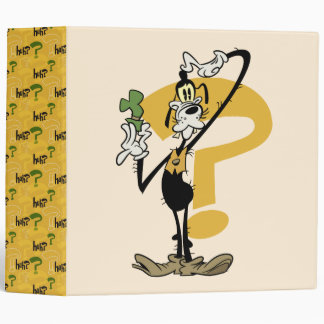 Goofy 1 vinyl binders