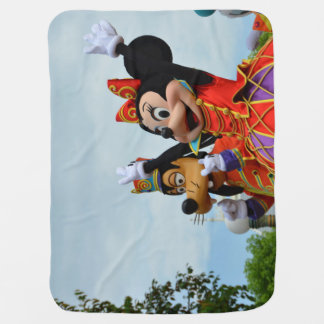 goofy and mikey baby blanket
