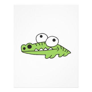 goofy baby alligator flyer