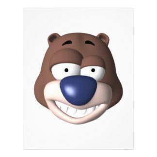 goofy bear face flyer