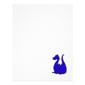 Goofy Blue Dragon Flyer