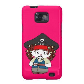 Goofy Cartoon Pirate Samsung Galaxy S2 Cases