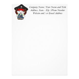 Goofy Cartoon Pirate Letterhead