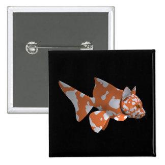 Goofy Catfish Pinback Button
