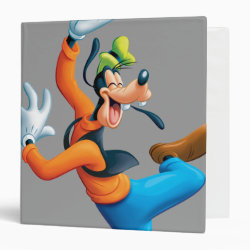 Avery Signature 1' Binder with Funny Dancing Goofy design