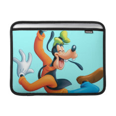 Goofy   Dancing Macbook Sleeve at Zazzle