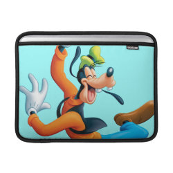 Macbook Air Sleeve with Funny Dancing Goofy design