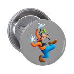Goofy | Dancing Pinback Button