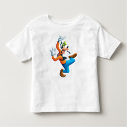 Toddler Fine Jersey T-Shirt with Funny Dancing Goofy design