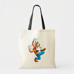 Budget Tote with Funny Dancing Goofy design