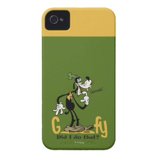 Goofy - Did I do that iPhone 4 Case