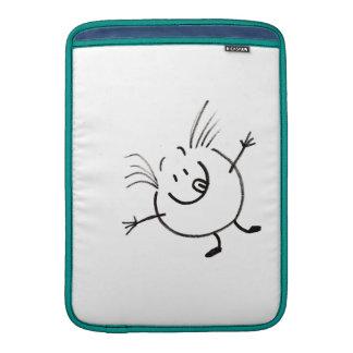 Goofy Doodle Guy Macbook Air Sleeve