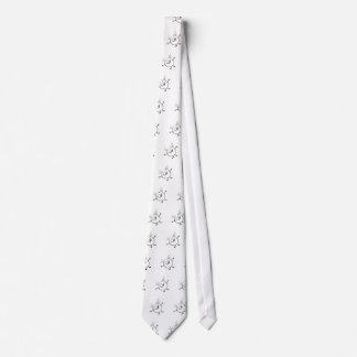 Goofy Doodle Guy Tie