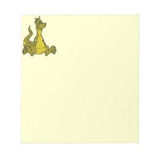 Goofy Dragon Notepads