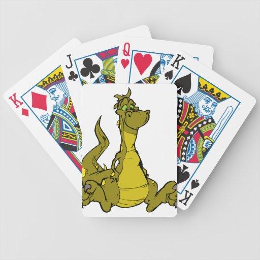 Goofy Dragon Poker Cards
