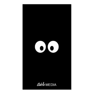 Goofy Eyeballs Business Card