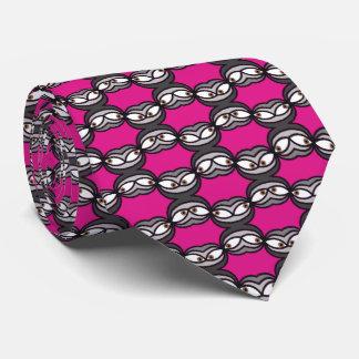 Goofy Eyes Pattern. Tie