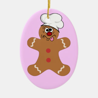 Goofy Gingerbread Men the Best Christmas Guests Ornament