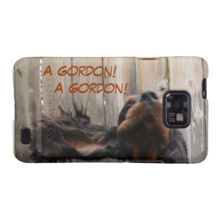 Goofy Gordon Setter Samsung Galaxy S Case