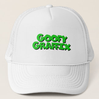Goofy Graffix - Green Letter hat