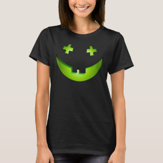 Goofy Halloween pumpkin women's costume T-Shirt
