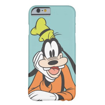 Disney Themed Goofy | Hand on Chin Barely There iPhone 6 Case