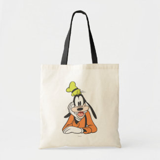 Goofy Hand on Chin Budget Tote Bag
