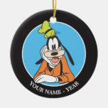 Goofy | Hand on Chin Ceramic Ornament