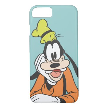 Disney Themed Goofy | Hand on Chin iPhone 7 Case