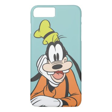 Disney Themed Goofy | Hand on Chin iPhone 7 Plus Case