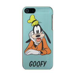 Incipio Feather Shine iPhone 5/5s Case with Classic Cartoon Goofy design