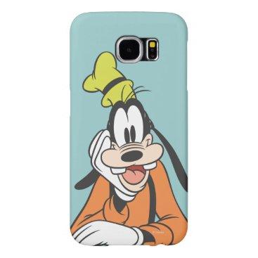 Disney Themed Goofy | Hand on Chin Samsung Galaxy S6 Case