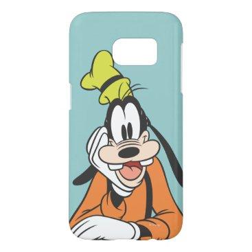 Disney Themed Goofy | Hand on Chin Samsung Galaxy S7 Case