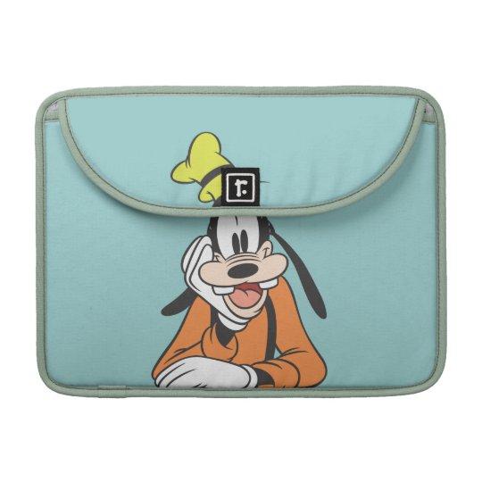 Goofy   Hand on Chin Sleeve For MacBooks