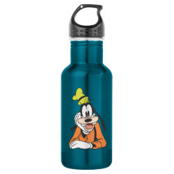 Water Bottle (24 oz) with Classic Cartoon Goofy design