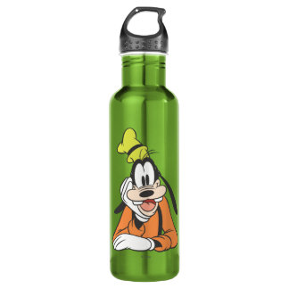 Goofy | Hand on Chin Water Bottle