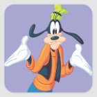 Goofy | Hands Out Square Sticker
