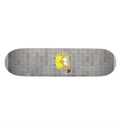 goofy ice cream monster skate board decks