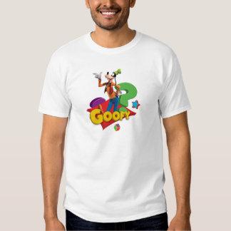 Goofy is standing shirt
